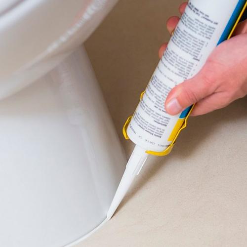 как удалить клей с акриловой ванны